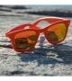 Lunettes solaires Tomaso-orange mirror - Gamme Tomaso