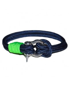 The Stud Navy ~ Fluo Green