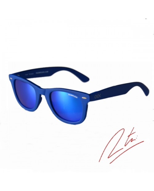 Lunettes solaires Tomaso-Blue mirror - Gamme Tomaso