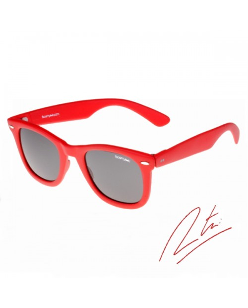 Lunettes solaires Tomaso-red - Gamme Tomaso